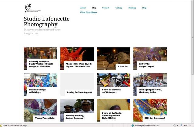 SL blog page