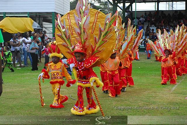 Kiddies Mas in Guaracara