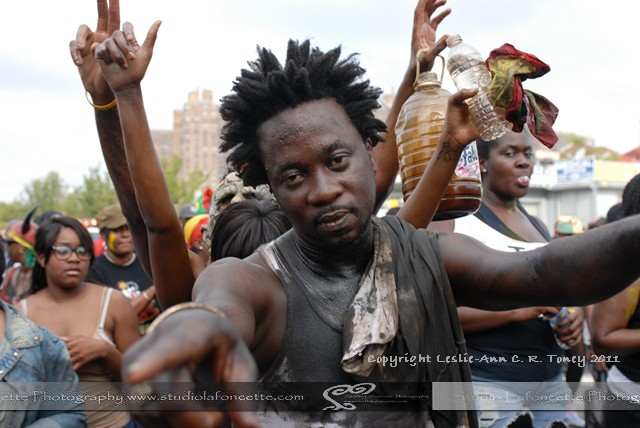 Tallpree in Brooklyn Jouvert 2011